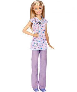 Papusa Barbie Career, Asistenta medicala DVF57