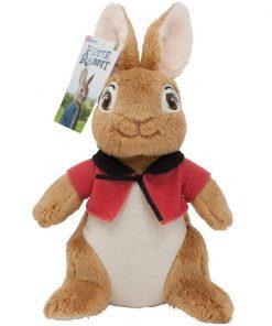 Jucarie bebe de plus Peter Rabbit Movie, Flopsy, Rosu, 23 cm