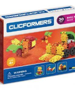 Set de construit Clicformers basic 30 piese