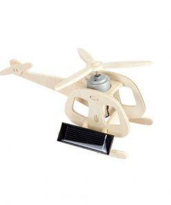 Set de construit - Elicopter, machetă cu panou solar Egmont