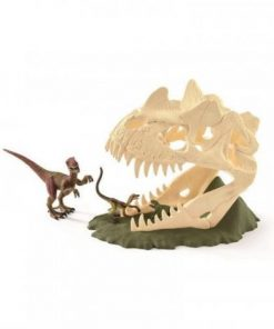 Set figurine schleich craniu mare cu velociraptor sl42348