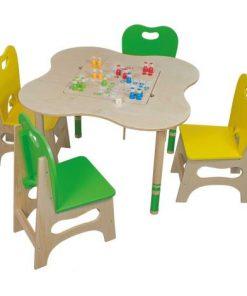 Set Play Corner cu masuta scaunele si jocuri- Beleduc