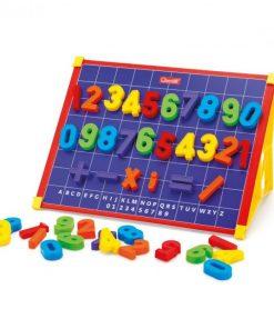 Tableta Magnetica 123 Quercetti, 53 piese, 4 ani+