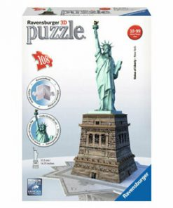Puzzle 3D - Statuia Libertatii, 108 piese