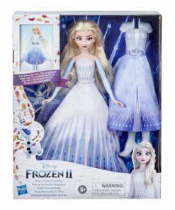 Papusa Frozen 2 - Transformarea Elsei