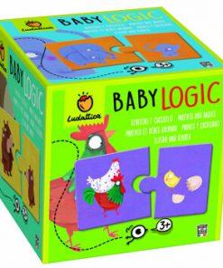 Puzzle Baby Logic - Parinti si copii, 20 piese