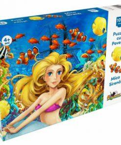 Puzzle cu Povesti - Mica Sirena, 100 piese
