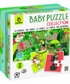 Baby Puzzle - Jungla, 32 piese