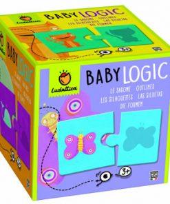 Puzzle Baby Logic - Umbre, 20 piese