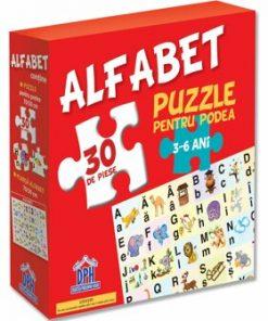 Alfabetul - Puzzle De Podea/***