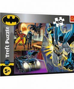 Puzzle Trefl Batman neinfricatul, 100 piese
