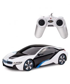 Masina cu telecomanda Rastar BMW I8, 1:24, Alb