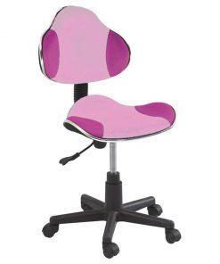 Scaun de birou pentru copii Vivid Pink Fuchsia - Signal, Roz 611979
