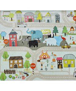 Covor de joaca My Torino Kids Street 120x170 cm - Obsession, Multicolor 1043894