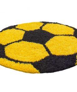 Covor Fun Round Yellow 100 cm - Ayyildiz Carpet, Galben & Auriu 1178964