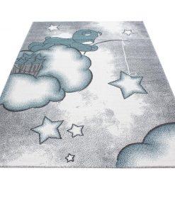 Covor Teddy Bear Blue 120x170 cm - Ayyildiz Carpet, Albastru 1179043