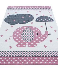 Covor Elephant Pink 160x230 cm - Ayyildiz Carpet, Roz 1179061