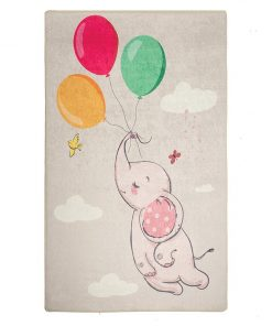 Covor Balloons Grey 140x190 cm - Chilai, Multicolor 1188543
