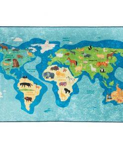 Covor Map 140x190 cm - Chilai, Multicolor 1188715