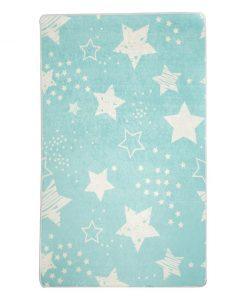 Covor Stars Blue 140x190 cm - Chilai, Albastru 1204998