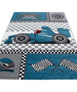 Covor Kids Blue 160x230 cm - Ayyildiz Carpet, Albastru 1375132