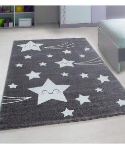 Covor Kids Grey 80x150 cm - Ayyildiz Carpet, Gri & Argintiu 1375153