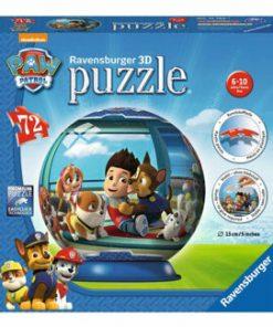 Puzzle 3D - Paw Patrol, 72 piese