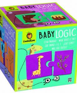 Puzzle Baby Logic - Ce mananca ?, 20 piese