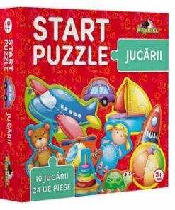 Start Puzzle - Jucarii, 24 piese