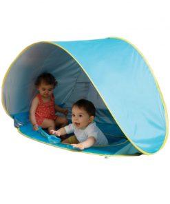 Cort joaca pentru copii Ludi, poliester, mini piscina inclusa, 115 x 80 x 70 cm, 10 luni+