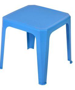 Masa din plastic pentru copii, 42 x 42 x 44 cm, Albastru