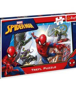 Puzzle copii Trefl, 260 piese, model Spiderman