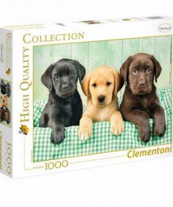 Puzzle Catelusi Labrador, 1000 piese