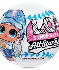 Papusa L.O.L. SURPRISE! All Star B.B.s, Baseball, 8 Surprize