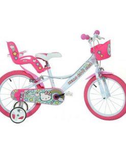 Bicicleta copii 16 hello kitty