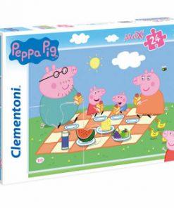 Puzzle Maxi Super Color Peppa Pig, 24 piese