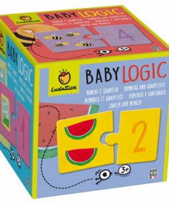 Puzzle Baby Logic - Numere, 20 piese