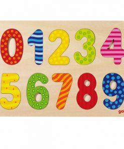 Puzzle lemn numere 0-9