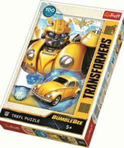 Puzzle Trefl Bumblebee Transformarea, 100 piese