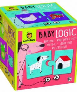 Puzzle Baby Logic - Unde traieste?, 20 piese