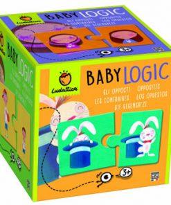 Puzzle Baby Logic - Imagini opuse, 20 piese