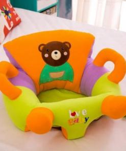 Fotoliu din plus bebe 50 cm , perna sustinere Love Baby Ursulet , Picodino®