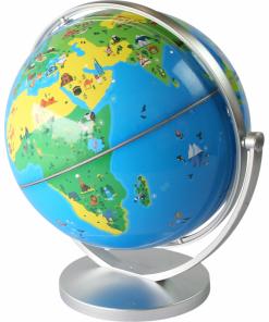 Jucarie educativa Glob interactiv Orboot Shifu, 25 cm, 360 grade, 4 ani+