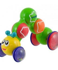 Jucarie pentru bebelusi Gusgus Miniland, 23 cm, Multicolor