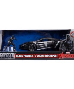 Masinuta Marvel Avengers Lykan Hypersport Black Panther Scara 1 La 24