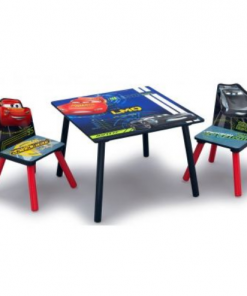 Delta Children Set masuta si 2 scaunele Cars Team