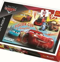 Puzzle Cars - Echipa Campioana, 30 piese