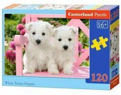 Puzzle Catelusi Terrier, 120 piese