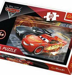 Puzzle Cursa Cars 3, 60 piese