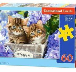 Puzzle Pisicute, 60 piese